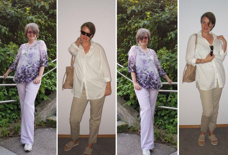 Outfit-Ideen für große Frauen mit langen Beinen oder Menocore