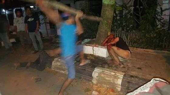 Astaghfirullah!! Kalau Polisi Terlambat, Dua Pemuda Ini Dipastikan Ketemu Malaikat dengan Cara Mengenaskan…