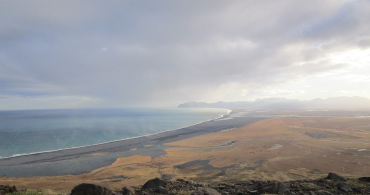 Reminiscing to this moment I was alone on Iceland's coastal 917