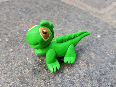 Calamite Fimo gecko
