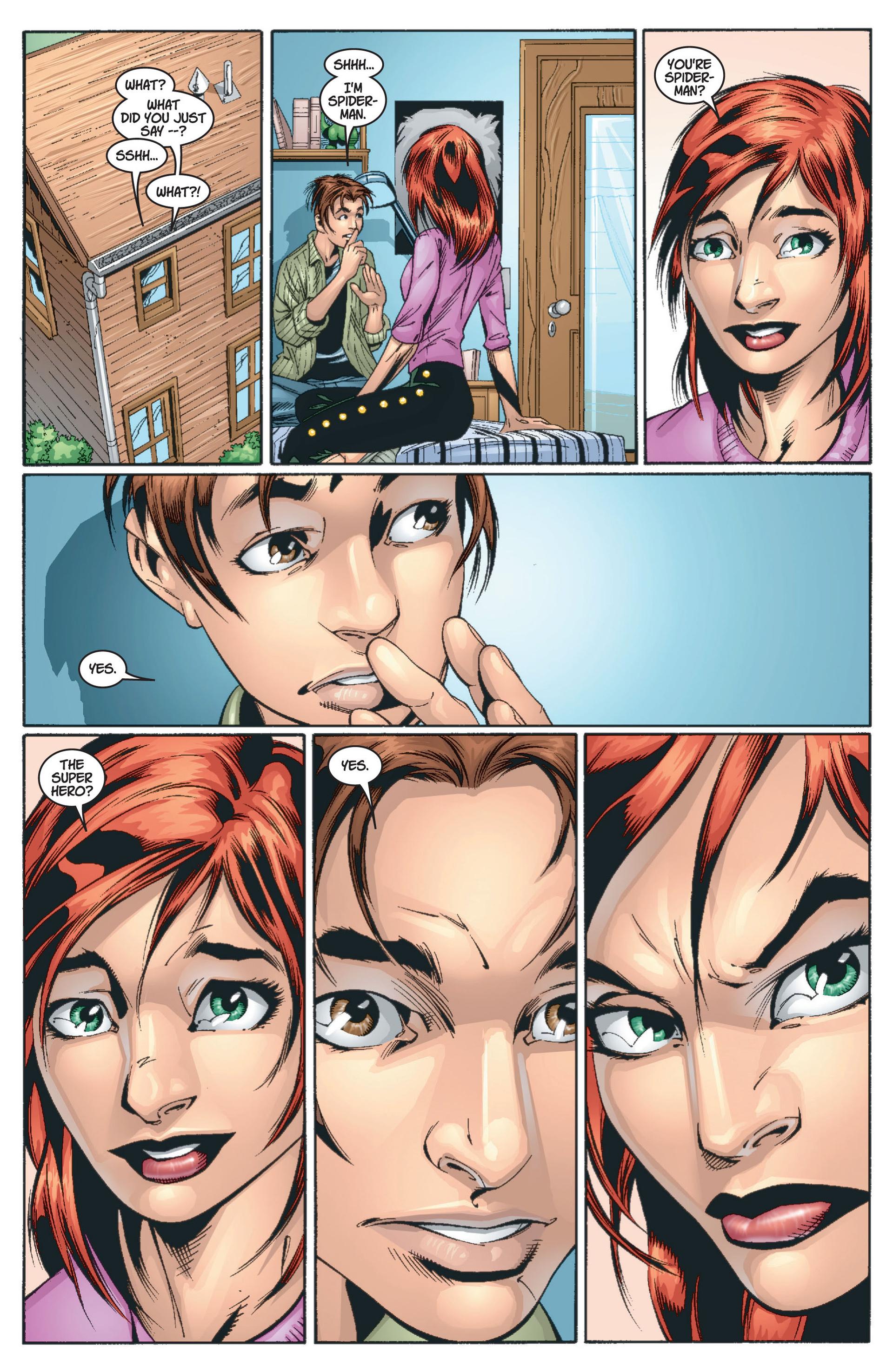 Read online Ultimate Spider-Man (2000) comic -  Issue #13 - 6