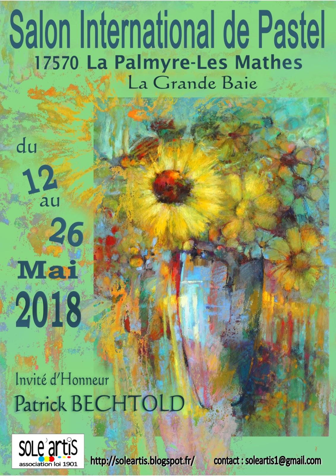 Sole 39 artis salon de pastel 2018 for Salon pastel