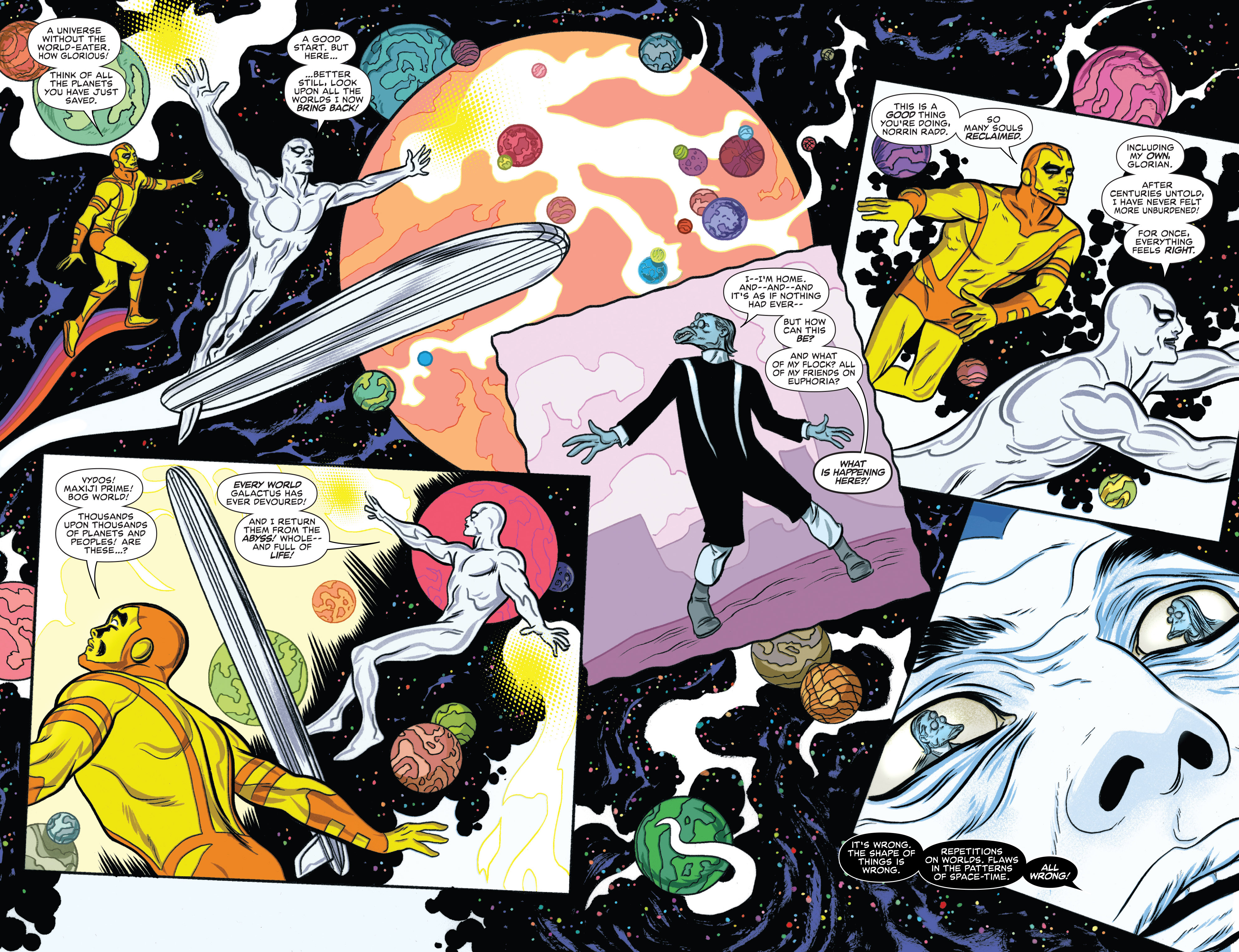 Read online Silver Surfer (2014) comic -  Issue #14 - 17