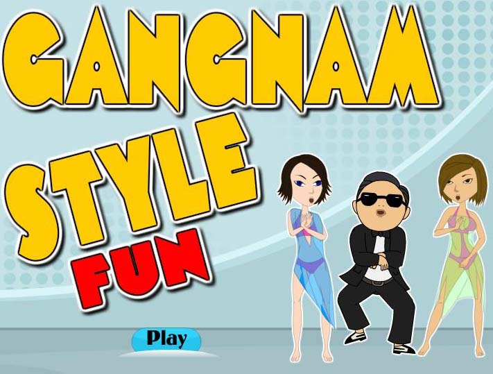 Gangnam Style Fun Dance Game Play Online Funny Games Online