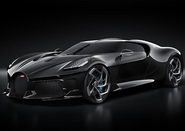 Bugatti La Voiture Noire, el auto nuevo más caro del mundo