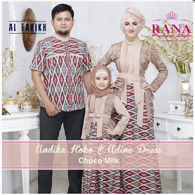 Model Baju Muslim Couple Family Modern Terbaru
