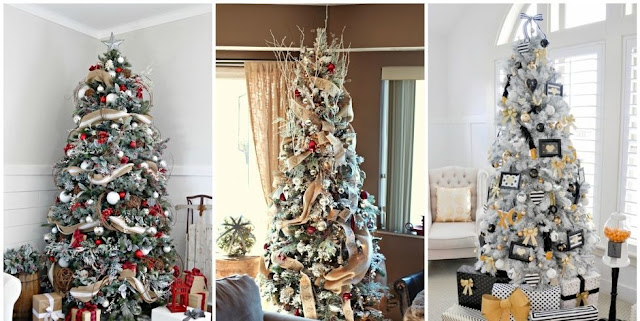 Christmas Tree Ribbon Ideas :  15 GORGEOUS IDEAS (HD)