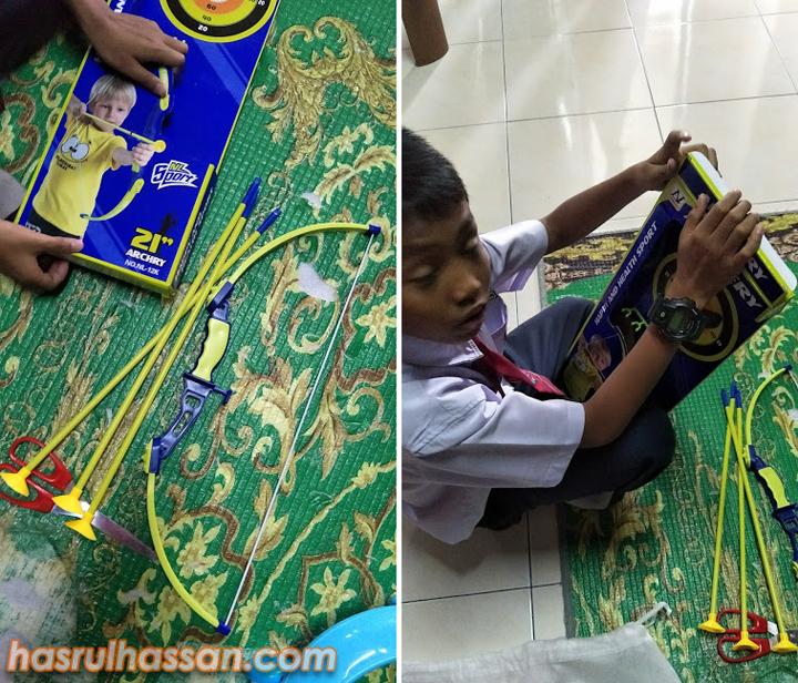 Set Memanah Mainan Murah Beli di DIY