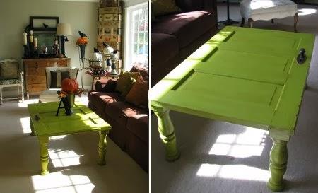 Ingeniando como hacer una mesa con una puerta vieja for Como pintar una puerta de madera vieja
