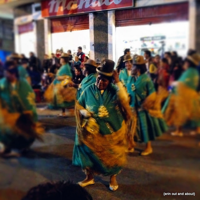 {ErinOutandAbout} Visit Bolivia: Oh the Parades