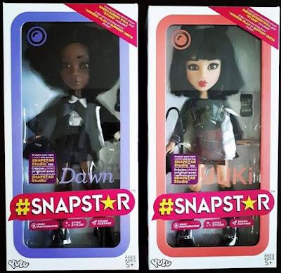 Куклы Snapstar в коробках