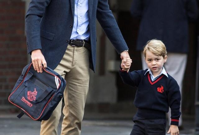 Kobieta wtargnęła do szkoły, gdzie uczył się książę George.