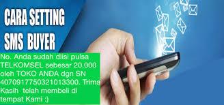 Cara Set Iklan Pesan SMS Buyer Permata Pulsa