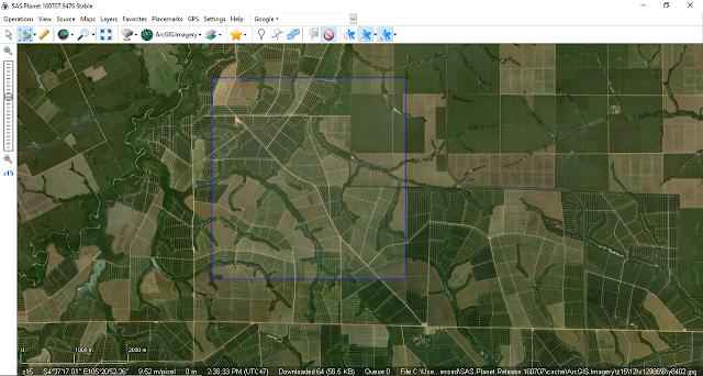 Cara Download Citra Resolusi Tinggi Menggunakan Aplikasi SAS Planet