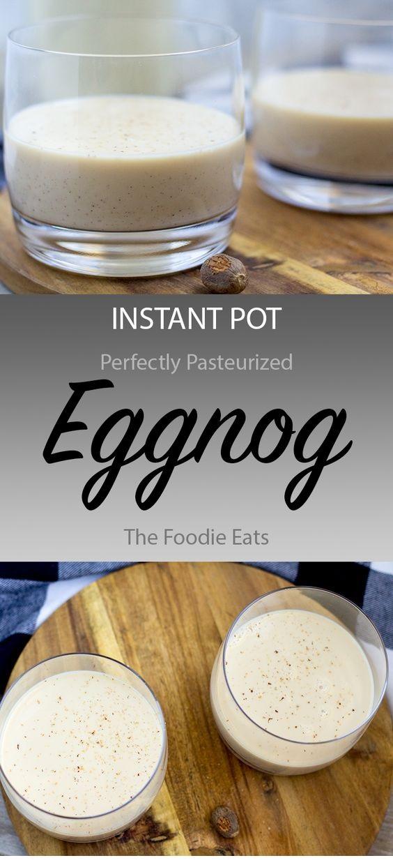 Instant Pot Eggnog
