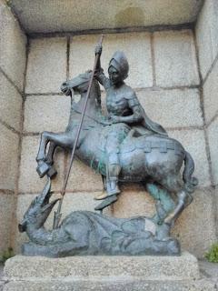 Estatua de San Jorge