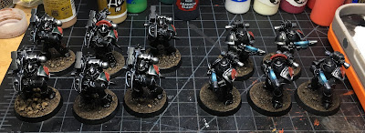 Horus Heresy Dark Angels WIP