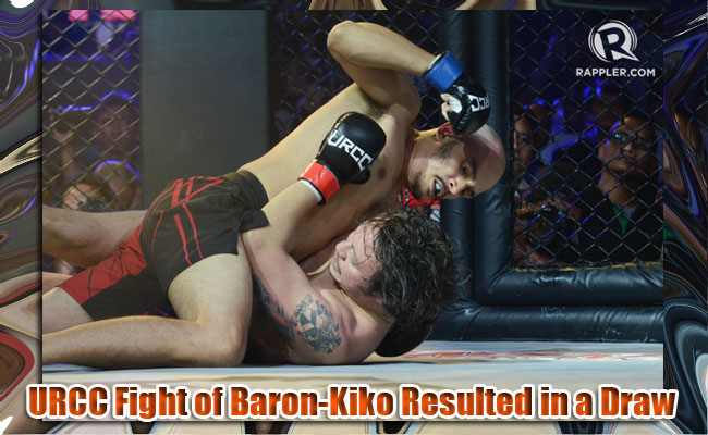 URCC Fight of Baron-Kiko Resulted in a Draw