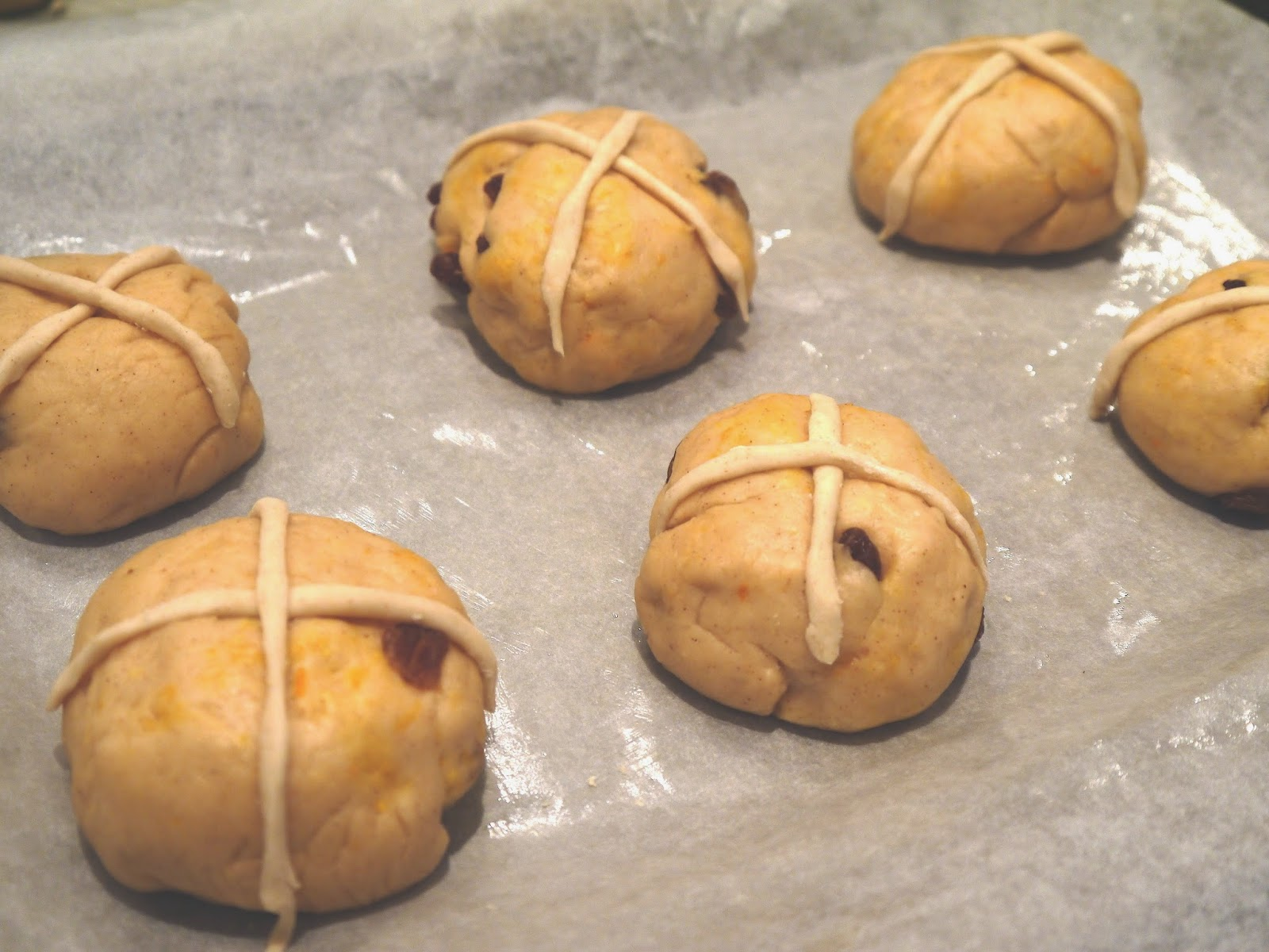 The Betty Stamp Lifestyle Sticky Hot Cross bun recipe