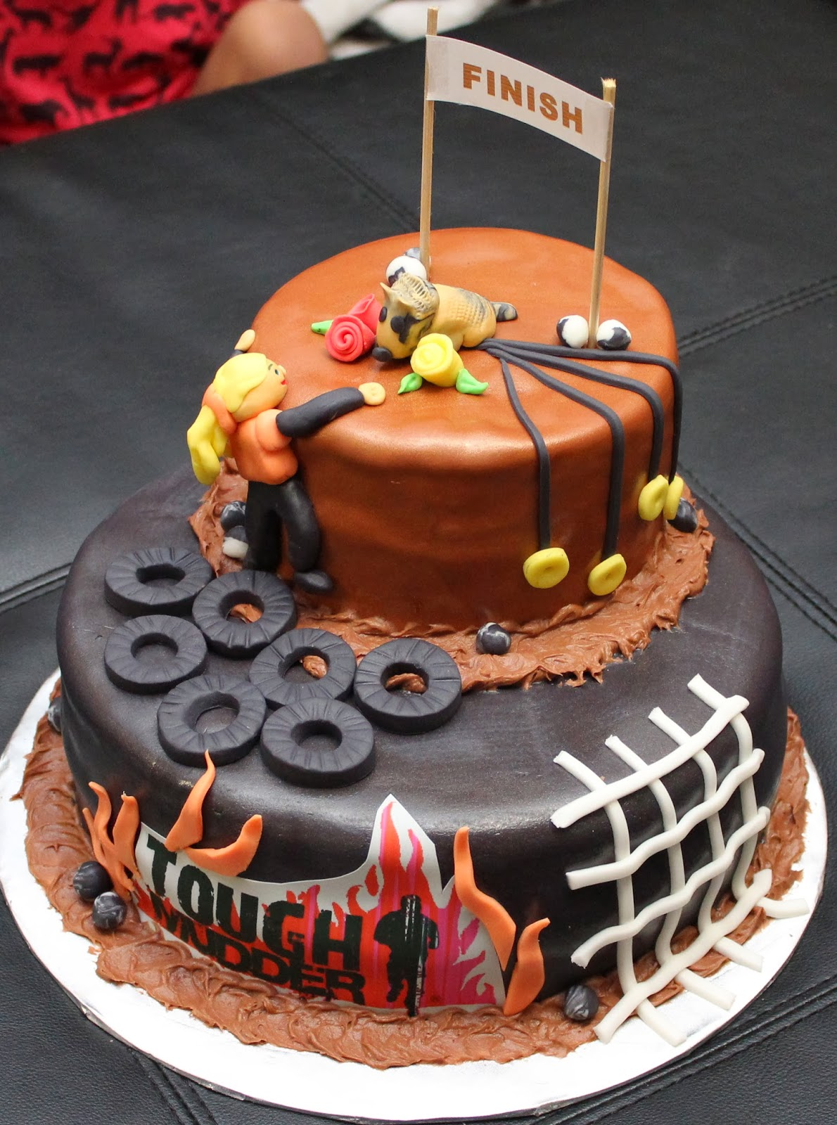 Obstacle Course Birthday Cake