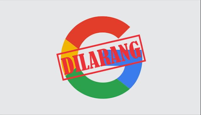 google diblokir