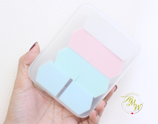 a photo of Pro Studio Beauty Exclusives Pentagon Sponges review.  Miracle Sponge Set with Case (8 Pack)