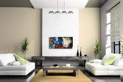 34 Warna Cat Ruang Tamu Modern Minimalis