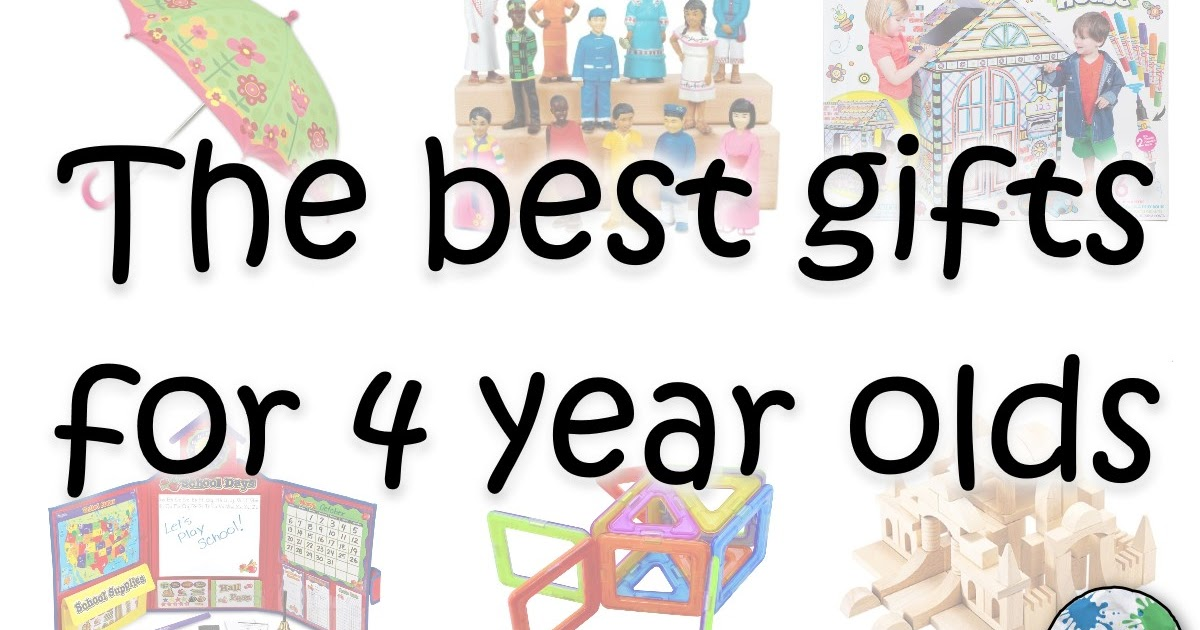 Top Gifts For 2 Year Olds: Mommy Monday: Top Gifts For 4 Year Olds