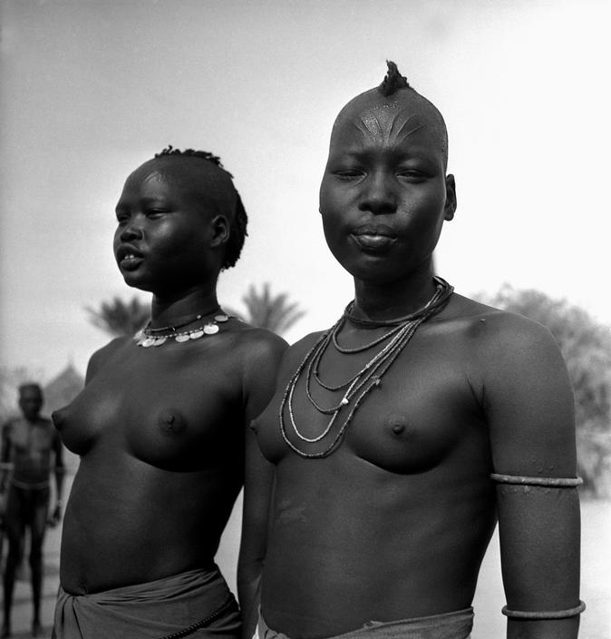 Dinka and Nuer Hairstyle