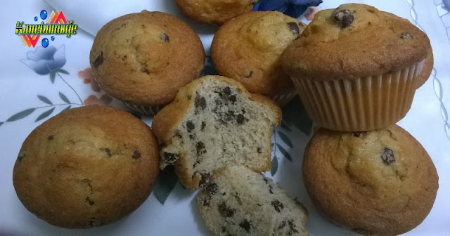 Muffins con pepitas