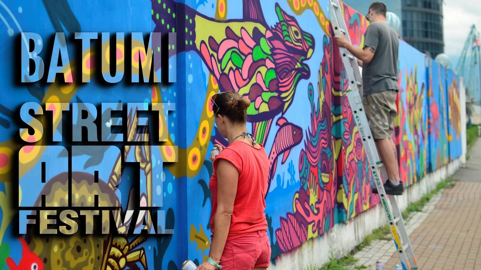 Street art festival BATUMI 2017