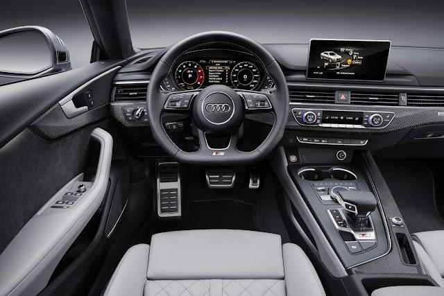Novo Audi S5 Sportback 2017 - interior