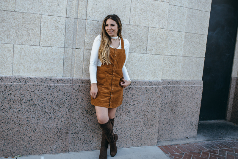 overall, cute dress, what to wear this fall