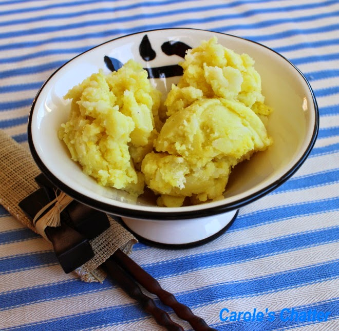 Olive Oil Mustard Mash by Carole's Chatter