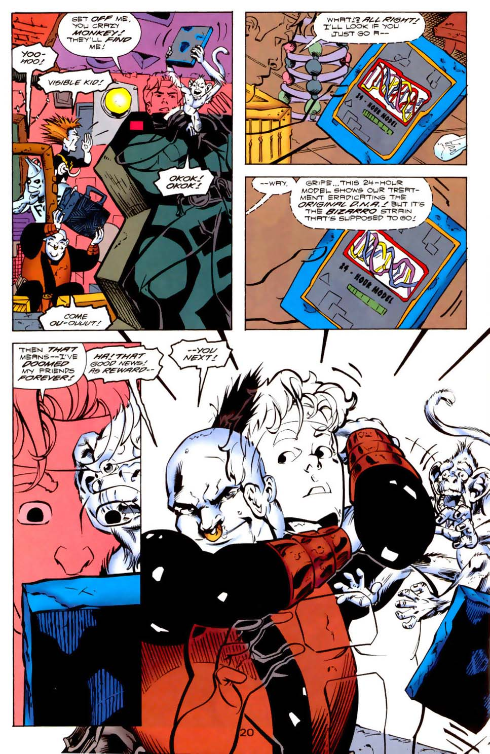 Legion of Super-Heroes (1989) 114 Page 20