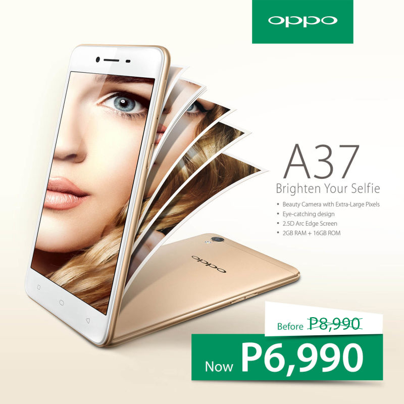 OPPO A37 Is Now Priced At Just PHP 6990!