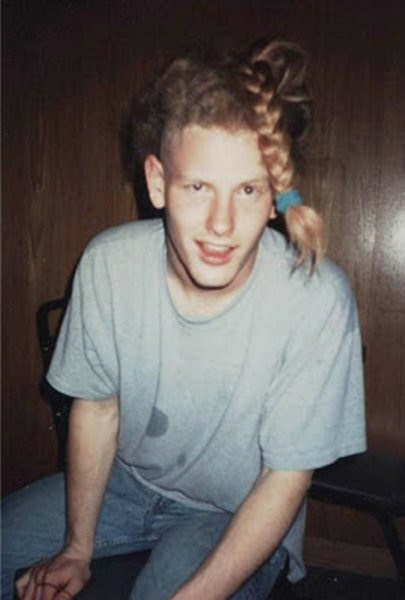 Corey taylor long blonde hair accept