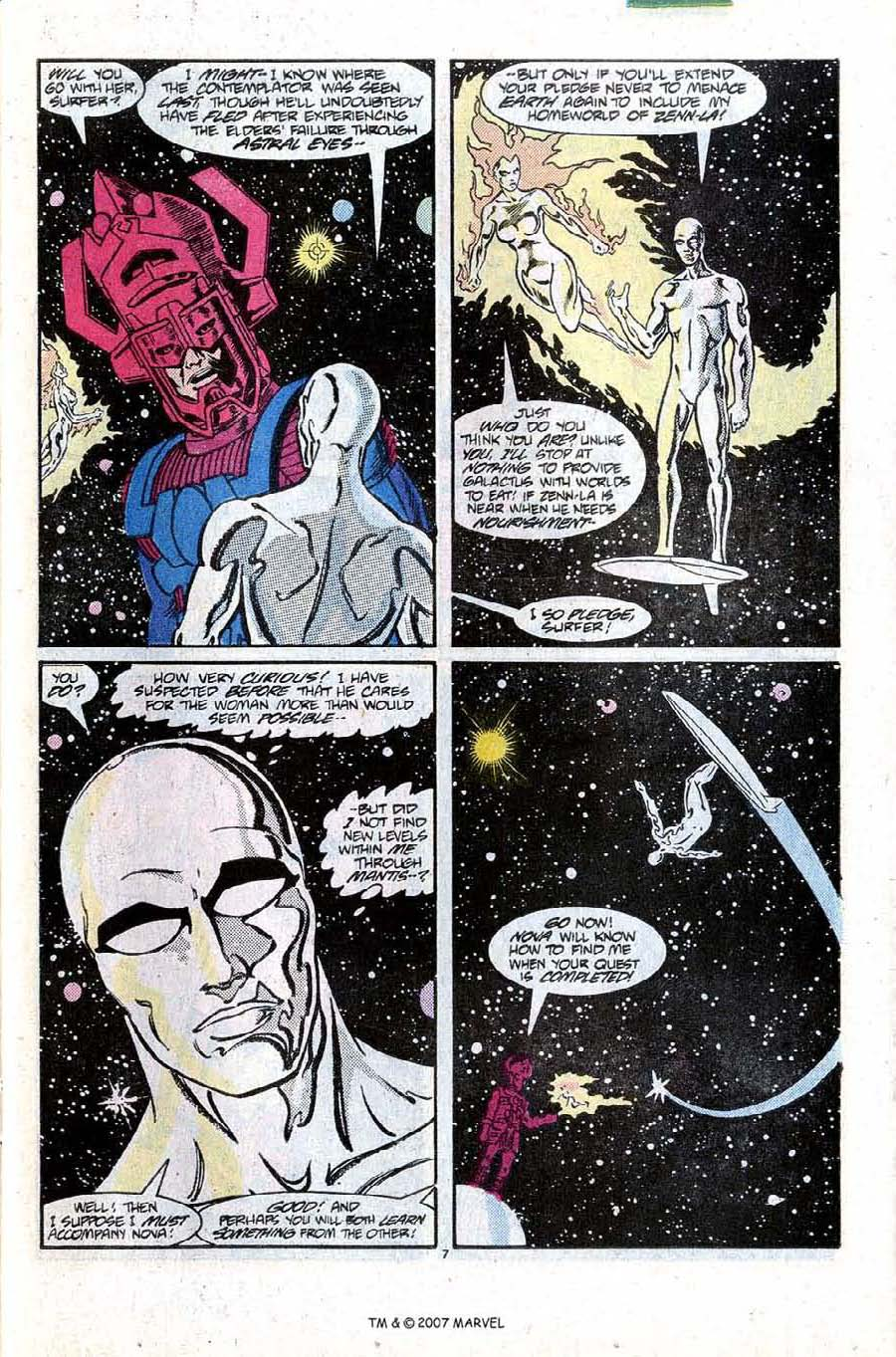 Read online Silver Surfer (1987) comic -  Issue #10 - 11
