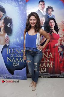 Bollywood Actress Manjari Phadnis Stills in Ripped Jeans at Film Jeena Isi Ka Naam Hai Interview  0010.jpg