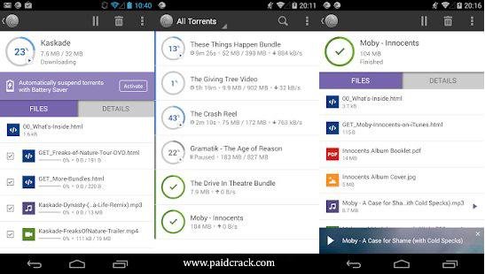 BitTorrent Pro APK 6.1.8 [Paid Version]