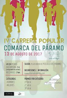 Clasificaciones Carrera Comarca del Paramo 2017