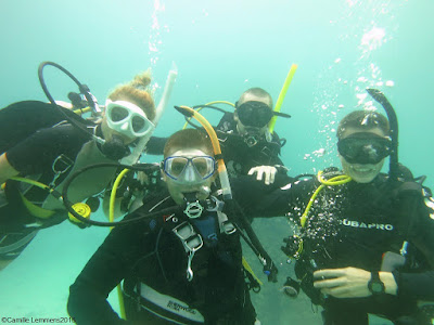 PADI IDC on Phuket for October has been completed