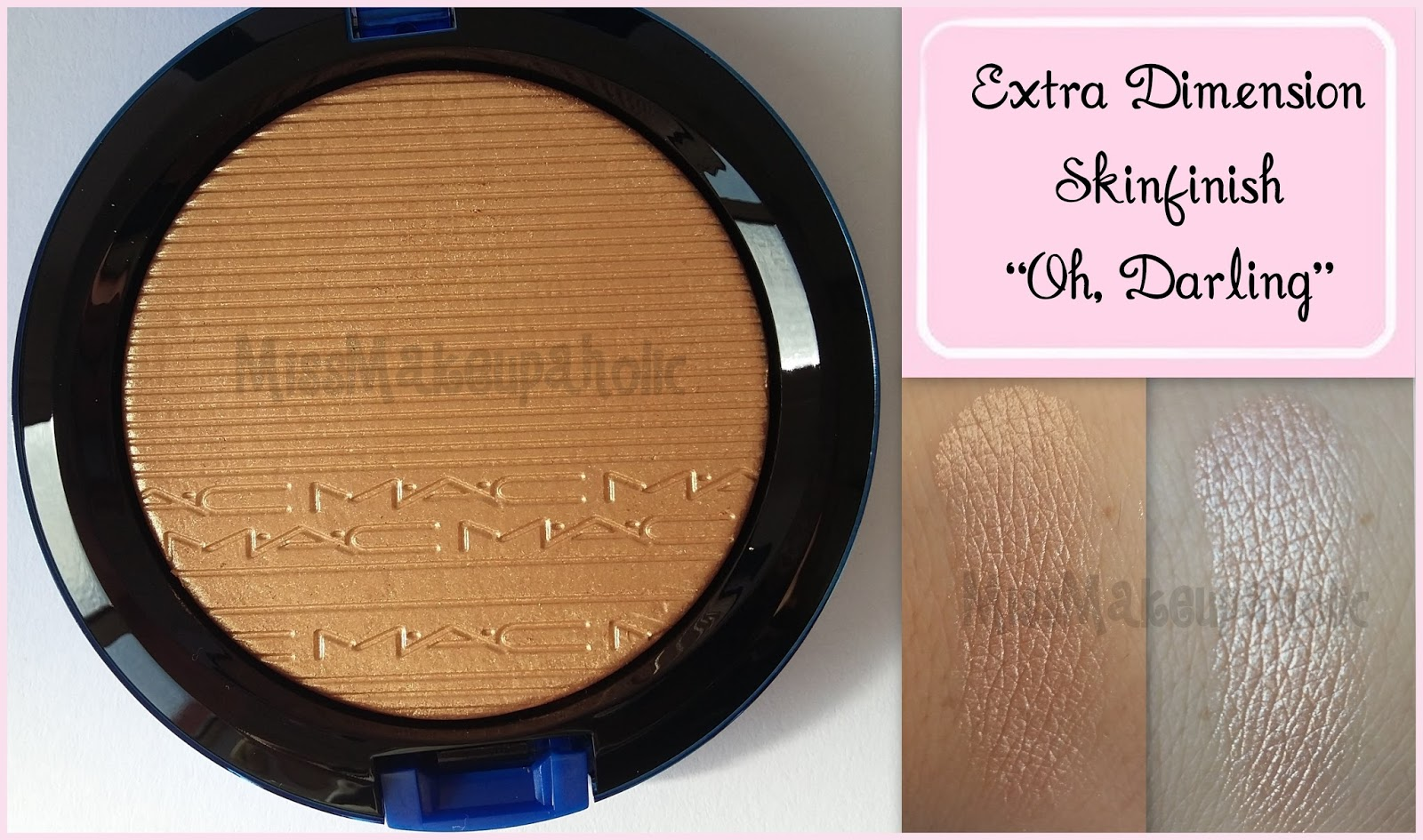 Iluminadores Mac Missmakeupaholic Extra Dimension Skinfish De Mac En Quotoh