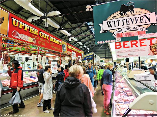 Interior del St. Lawrence Market, Toronto