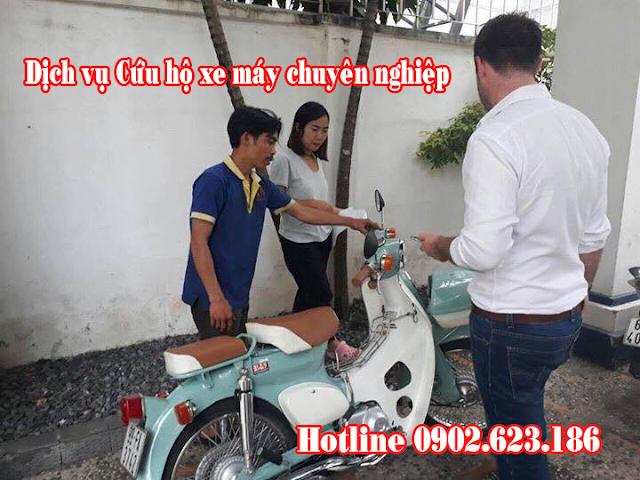 Dịch vụ Cứu hộ xe máy chuyên nghiệp tại Sài Gòn