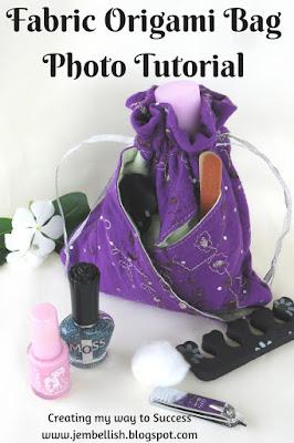 Fabric Origami Bag
