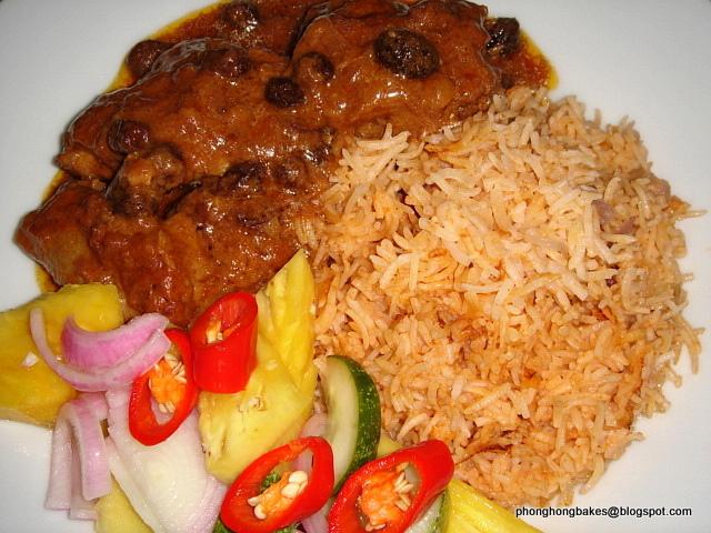 PH Bakes and Cooks!: Nasi Tomato (Tomato Rice)