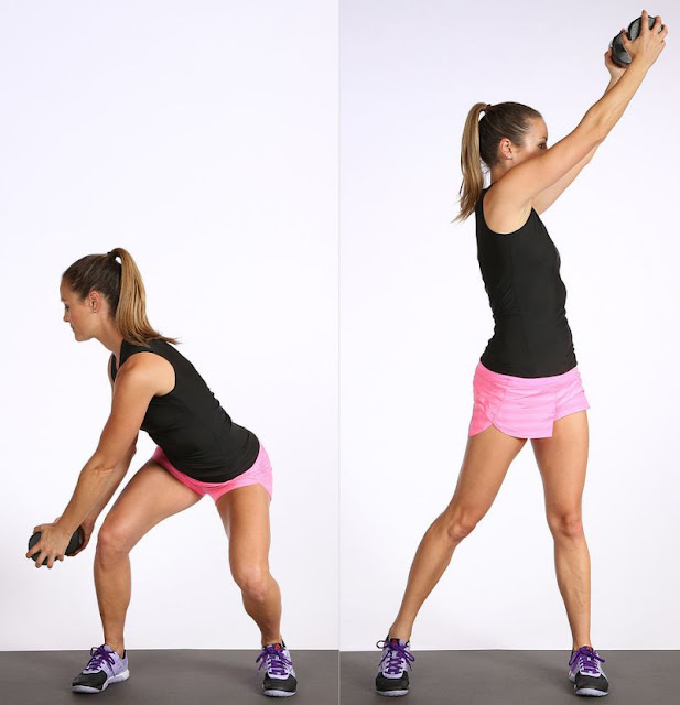 8 Simple No-Equipment Workouts At Home For Women!- Standing Chop