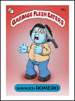 Zombies Meet Garbage Pail Kids (art by Omar Hauksson) - Romero