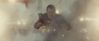 liga de la justicia: primer vistazo a superman